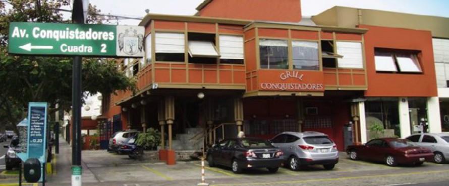 Restaurante Grill Conquistadores Lima Atrapalope