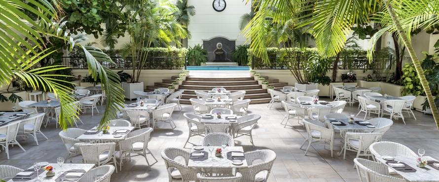 restaurante jard n de invierno hotel loi suites buenos