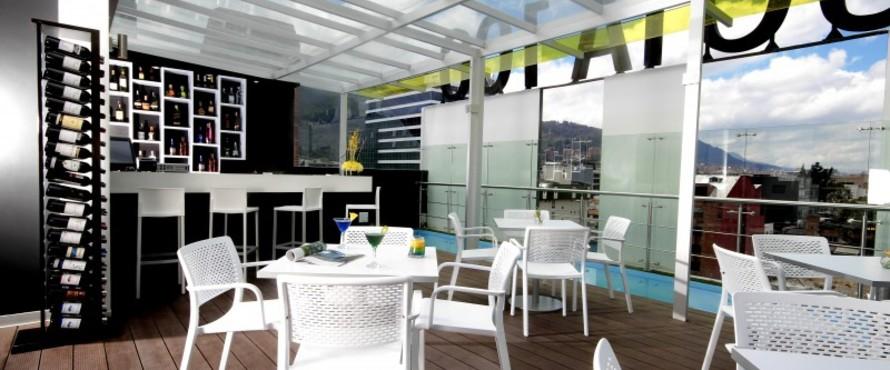 Restaurante madeira terraza bar bogot - Dekzeil terras balkon ...