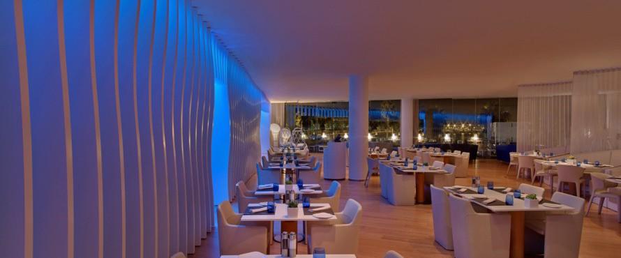 Restaurante wave hotel w barcelona barcelona for Hotel w barcelona restaurante
