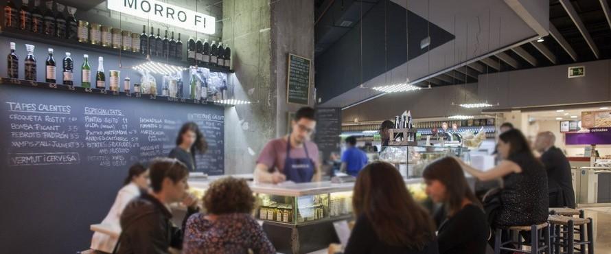 Restaurante morro fi l 39 illa diagonal barcelona for Centro comercial l illa