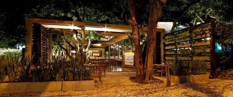 Restaurante far pe n ciudad jard n cali for Faros para jardin