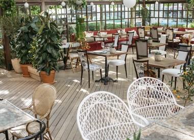Restaurante casa benigna madrid for Pizza jardin marcelo spinola