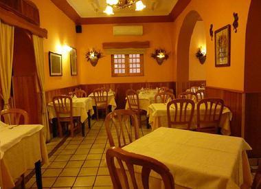 Restaurante la ancha zorrilla madrid for El jardin prohibido restaurante