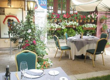 Restaurante arrocer a mediterr neo habana 33 madrid for Pizza jardin marcelo spinola