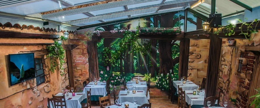 Restaurante el jard n prohibido madrid for Jardin prohibido
