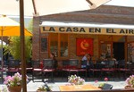 Restaurante La Casa en el Aire - Patio Bellavista