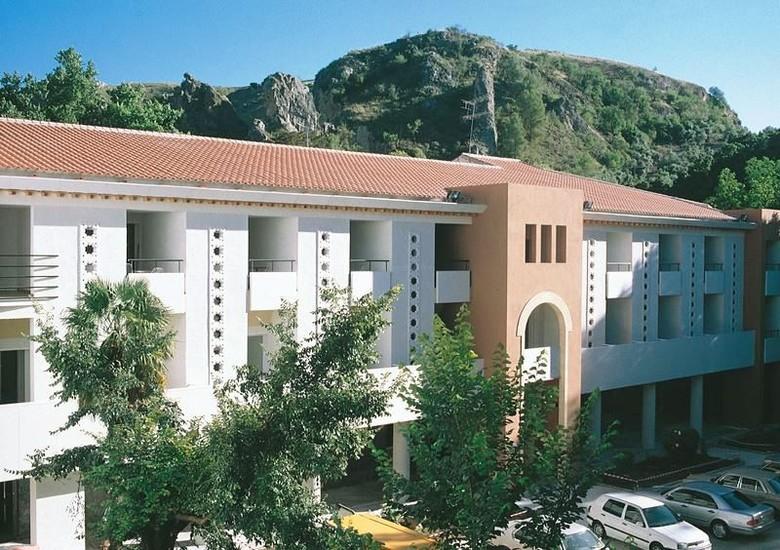 Hotel balneario alhama de granada alhama de granada for Balneario de fortuna precios piscina