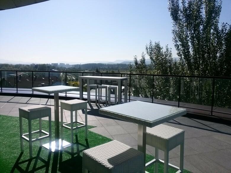 Hotel zenit jardines de uleta suites vitoria gasteiz for Hotel jardines de uleta vitoria