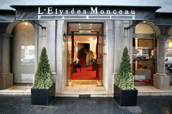 Hotel Best Western Elysees Paris Monceau