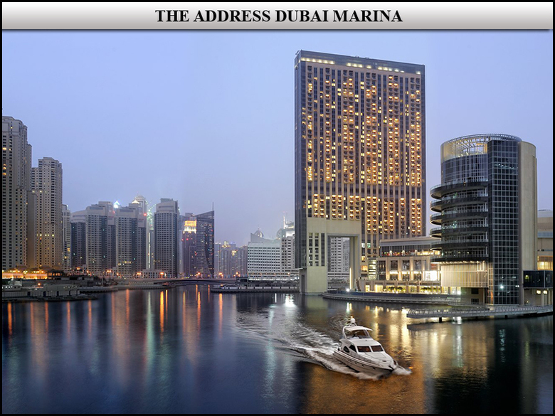 Hotel The Address Dubai Marina