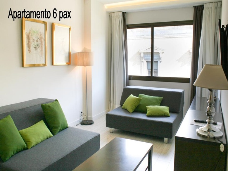 Aparthotel serrano recoletos madrid for Appart hotel madrid