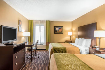 Hotel Comfort Inn Near Worlds Of Fun