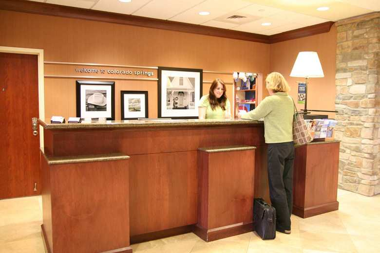 Hotel Hampton Inn  Suites Colorado Springs-air Forc