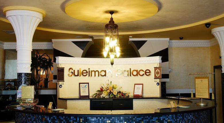 Hotel Suleiman Palace