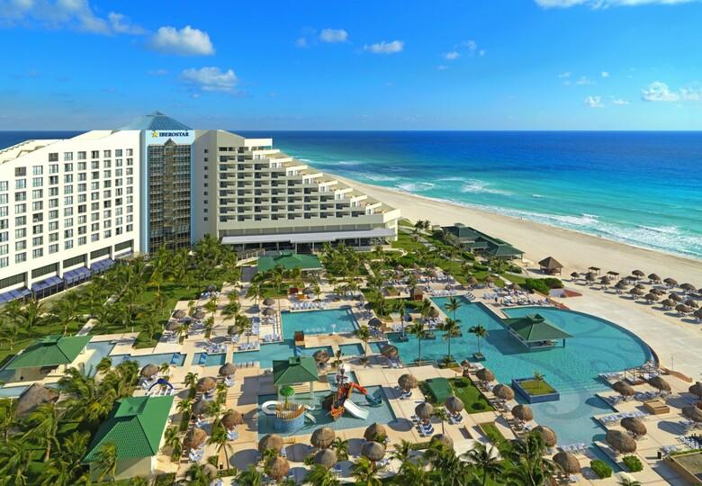 Hotel iberostar cancun ex hilton cancun golf spa resort for Villas kabah cancun ubicacion