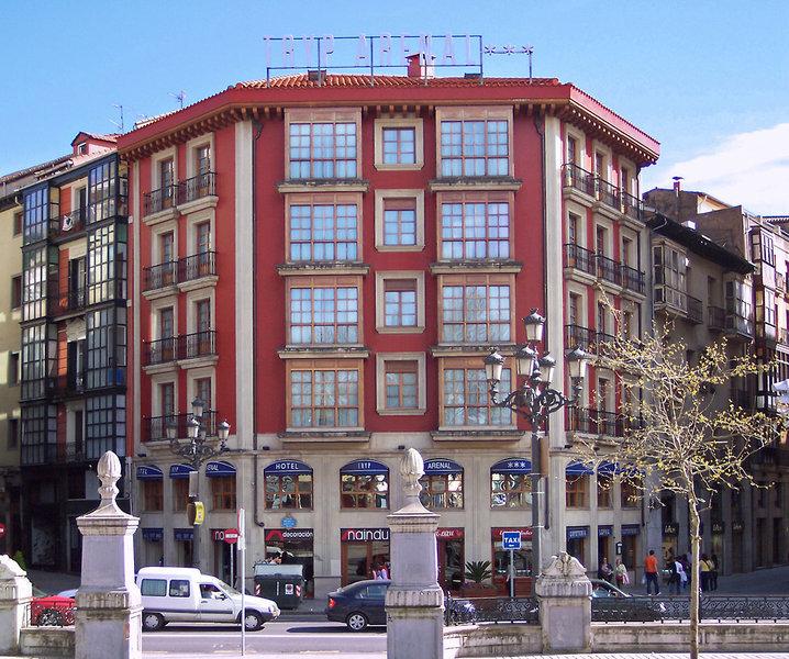 Hotel arenal bilbao bilbao vizcaya for Hoteles familiares en bilbao