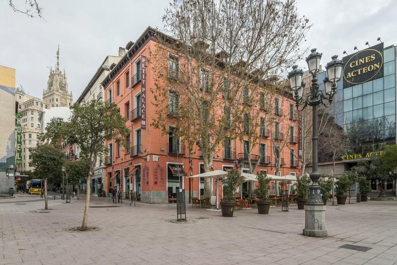 Hotel petit palace plaza del carmen madrid - Centros de jardineria madrid ...