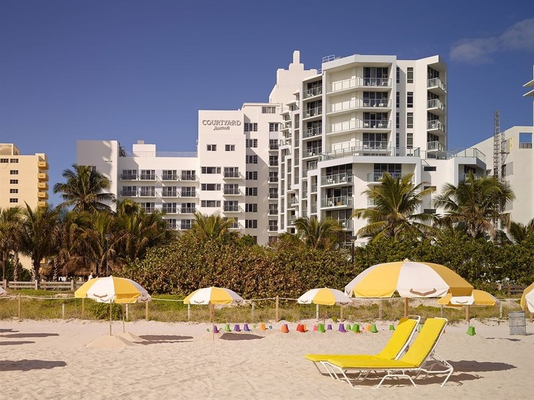 Hotel Courtyard By Marriott Miami Beach Oceanfront