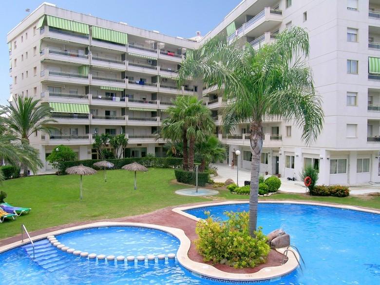 Apartamentos aptos jardines paraisol salou tarragona for Apartamentos jardin playa larga tarragona