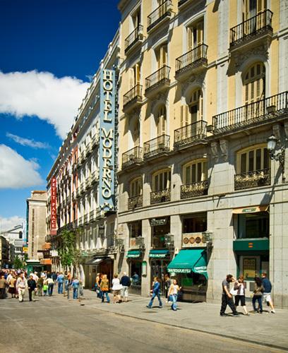 Hotel moderno madrid for Madrid moderno