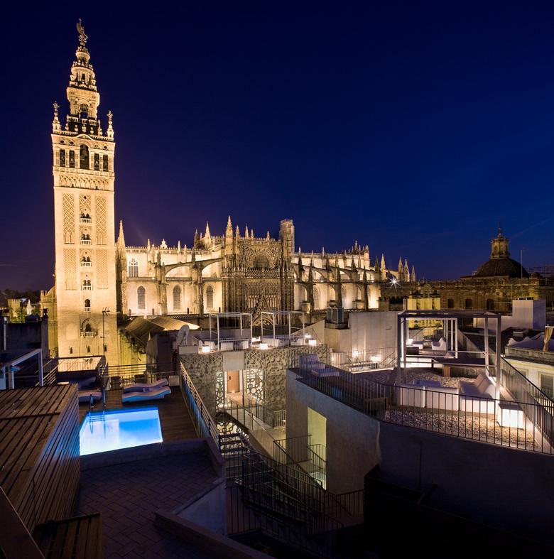 Eme catedral hotel sevilla - Terraza hotel eme ...