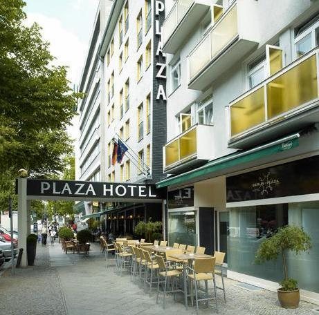 Hotel Berlin Plaza Am Kufürstendamm
