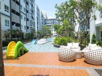 Apartamentos The Trust Huahin Condo Garden View By Dome