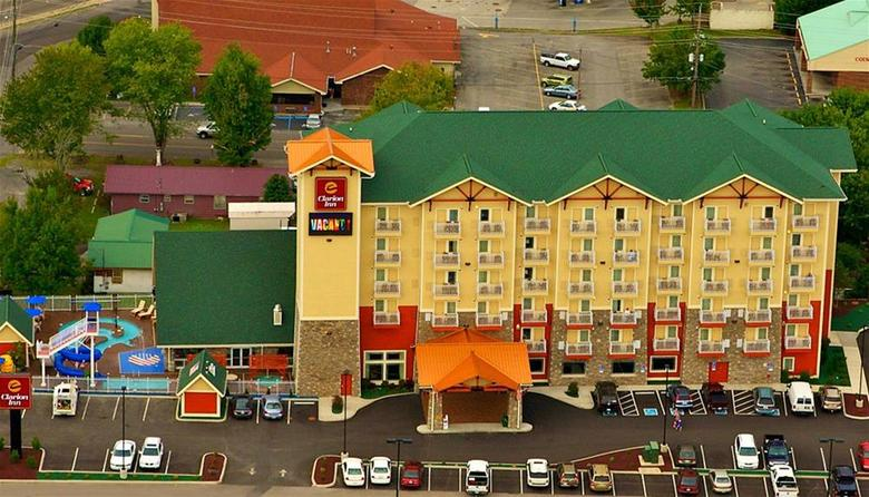 Hotel Clarion Inn Dollywood Area