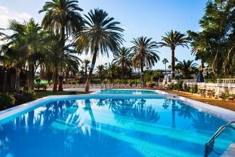 Hoteles con animaci n infantil en playa del ingl s for Bungalows jardin del sol gran canaria