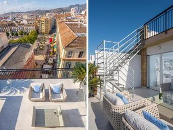 Apartamento Two-bedroom Penthouse With Terrace Mercedes