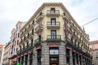Petit palace hoteles en madrid for Londres hotel madrid