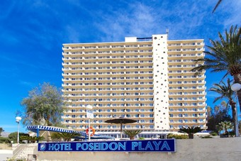 Hotel poseidon playa benidorm alicante for Hotel poseidon playa