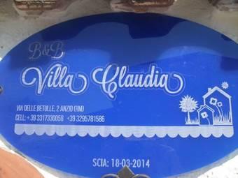 Bed & Breakfast B&B Villa Claudia