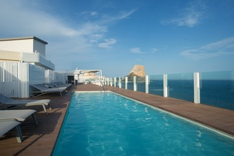 Los 30 mejores hoteles con accesos adaptados en calpe for Hoteles en calpe playa