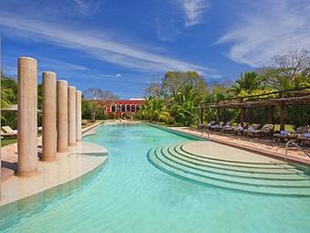 Los 3 mejores hoteles en abal for Hoteles en merida con piscina