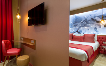 hoteles cercanos a pante n en paris. Black Bedroom Furniture Sets. Home Design Ideas