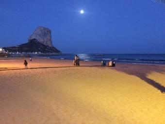 Hoteles cercanos a playa la manzanera en calpe for Hoteles en calpe playa