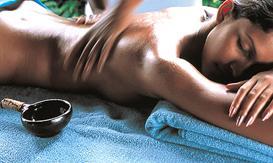 Cafeterapia. Pura energía, masaje con café