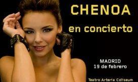 descuento concierto chenoa