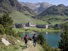 Actividades en Vall de Núria - taquillas del cremallera de Ribes-Enllaç