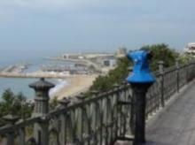 Actividades en Balcón del mediterráneo Tarragona (delante la estatua de Roger de Lauria)