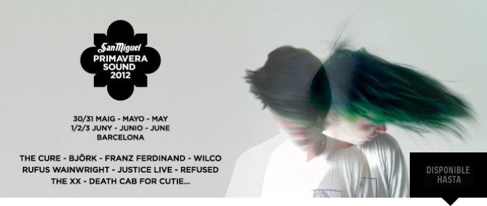 Primavera Sound 2012: abono y entradas de día