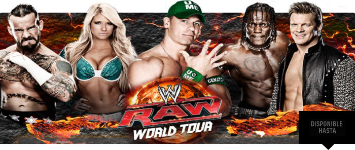 ¡WWE Raw World Tour 2012 en Sevilla!